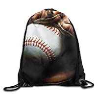 NiPapack Baseball Drawstring Gym Sport Bag