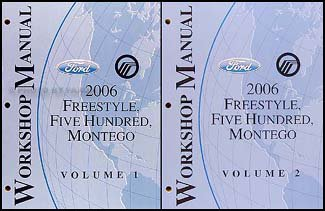 2006-freestyle-500-montego-repair-shop-manual-original