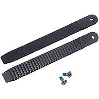 Mangobuy 1 par de Correas de sujeción para Tabla de Snowboard (22 cm), Color Negro