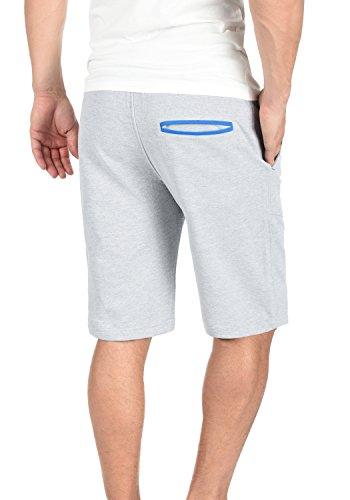 BLEND Saresen Herren Sweat-Shorts kurze Hose Sport-Hose aus hochwertiger Baumwollmischung Stone Mix (70813)