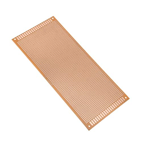 ZCHXD 10x22cm Single Side Universal Paper Printed Circuit Board for DIY Soldering 1pcs -