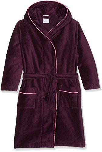 Sanetta Mädchen Bademantel 243816 Violett (Dark Purple 6140), 140