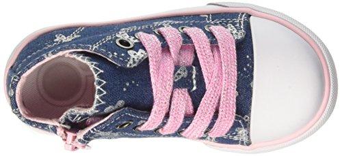 Chicco Cremina, Sneakers Bébé Fille Bleu (Jeans)