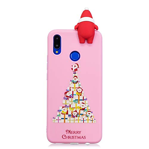 Natalizie Cover Huawei P Smart Plus Custodia 3D Babbo Natale ...