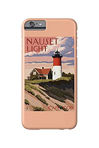Cape Cod, Massachusetts - Nauset Light and Sunset (iPhone 6 Plus Cell Phone Case, Slim Barely (Nauset Light Cape Cod)