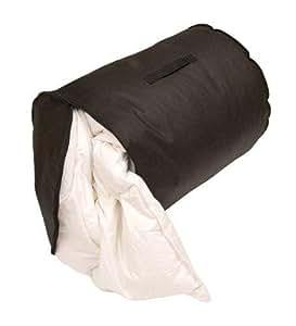 Caraselle sac de rangement a r pour couette 2 personnes grand mod le coloris noir - Couette grande dimension ...