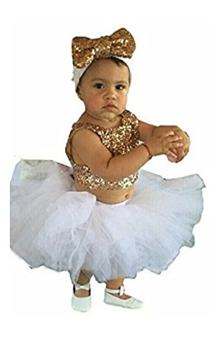 Baby Girl Clothing Set Tutu Skirt Top Headband Set Baby Girl Ghagra...