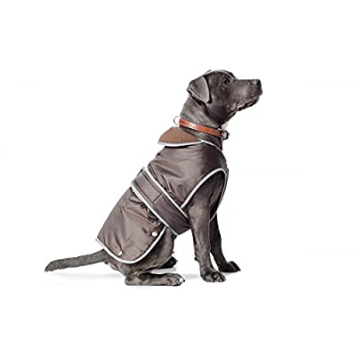 Ancol Muddy Paws Coat and Chest Protector, S, Chocolate by Ancol