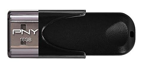 PNY Clé USB 2.0 Attaché 4 Standard 16 Go - (Usb 2.0 Attache)