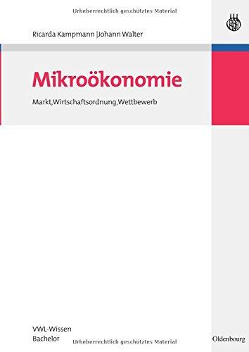 Semesterpaket VWL-Wissen Bachelor: Mikroökonomie: Markt, Wirtschaftsordnung, Wettbewerb