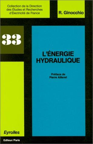 L'Energie hydraulique