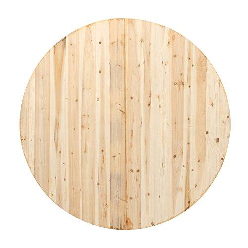 LVZAIXI Table Ronde de Banquet en Bois de Meubles de rangée de rangée (Taille : 150cm)