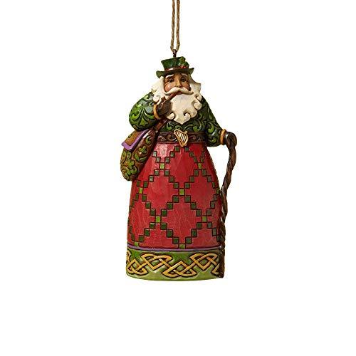 Unbekannt Jim Shore Irish Santa Christmas Ornament 4022939 Heartwood Creek Decoration