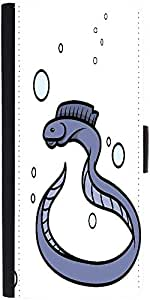 Snoogg Eel Fish Vector Cartoon Illustrationdesigner Protective Flip Case Cove...