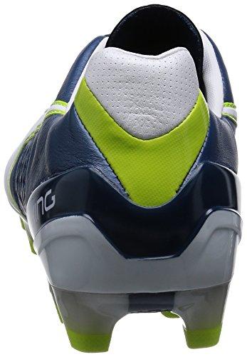 Puma King II FG Herren Fußballschuhe Blau (majolica blue-white-lime punch 01)