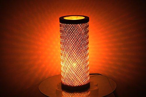 KraftInn Decorative Bamboo Table Lamp