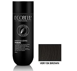 Ecobell Microfibra di Cheratina 28 gr. (28 gr. - Very Dark Brown (castano scuro intenso))