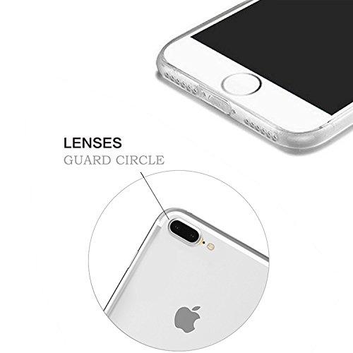 iPhone 7 Plus Transparente Case iPhone 7 Plus 5.5 pouces Cover,MingKun Ultra Mince Transparente Soft TPU Silicone Clair Transparente Case iPhone 7 Plus 5.5 pouces Cover pour iPhone 7 Plus Clair Étui H Picture-9