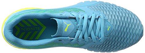Puma Ignite Dual Wn's, Scarpe da Corsa Donna Blu (Blue Atoll-safety Yellow 08)