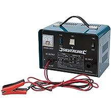Silverline 178555 - Cargador de batería 12/24 V (Para baterías de 20 - 240 Ah)
