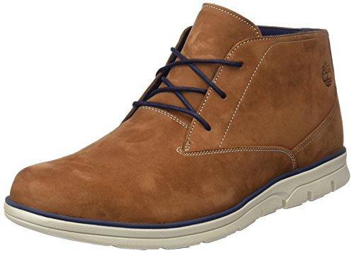 Timberland Herren Bradstreet Plain Toe Sensorflex Chukka Boots, Braun (Saddle Nubuck F13), 43 EU (Toe Chukka Plain)
