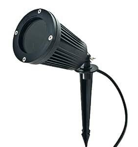 led outdoor garden gu10 4w spike spotlight spot light lighting 240v ip65. Black Bedroom Furniture Sets. Home Design Ideas