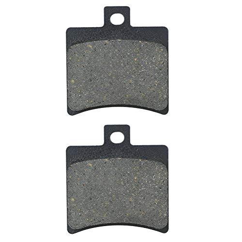 AHL 1 Paar Hinten Bremsbeläge für Aprilia SR 50 H20 (ditech) (RLA1/RLB1) 2000-2003 / Aprilia RS 125 (Radial Caliper model) 2T 2006-2014