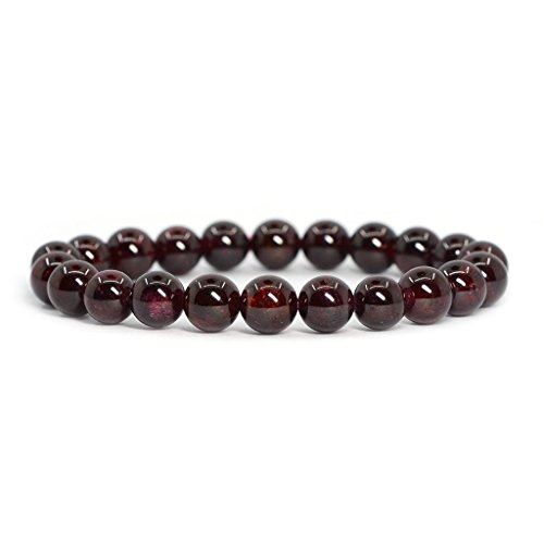 natural-a-grade-red-garnet-gemstone-8mm-round-beads-stretch-bracelet-7-unisex