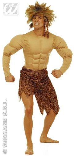 KOSTÜM - JUNGEL MAN - Größe 46/48 - Lendenschurz Kostüm Herren