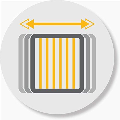 Safety 1st Quick Close ST Treppenschutzgitter, extra sicheres Metall-Türschutzgitter zum Klemmen, weiß, 73 - 80 cm, Möglichkeit der Verlängerung bis zu 136 cm verlängerbar (ab ca. 6 - 24 Monate) - 7