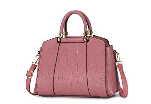borse in pelle, Miss Han Ban borse grande moda, tempo libero Messenger, cellulare dual-use package Pink