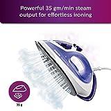 Philips EasySpeed Plus GC2048 2300-Watt Steam Iron (Purple)