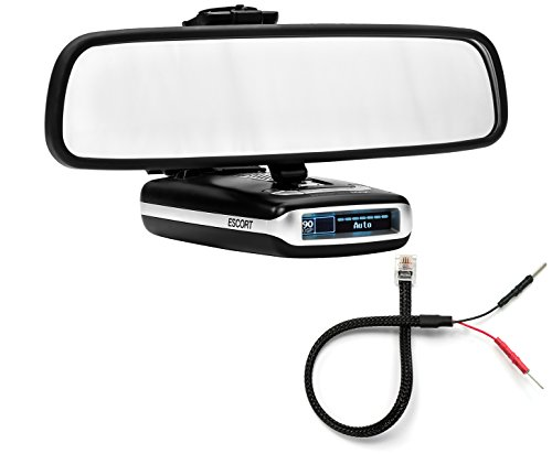performancepackage Support miroir Détecteur de radar Support + Miroir fil cordon d'alimentation – Escort Max Max2