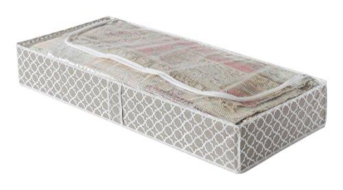 Compactor home portascarpe, microfibra, taupe/white, 107 x 46 x 16 cm