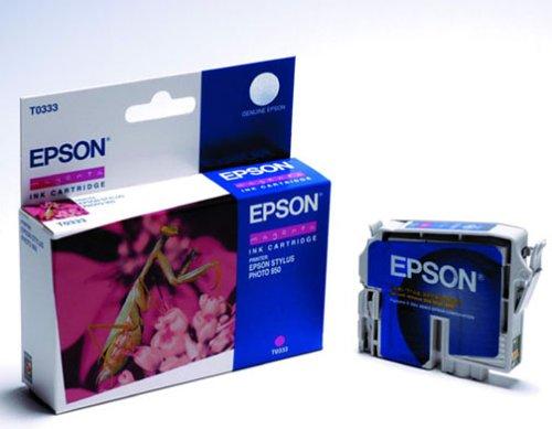 Epson T0333 Cartouche d'encre d'origine Dye Magenta pour Stylus Photo 950