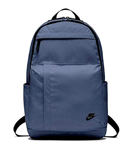 Nike Elmntl Bk Rucksack, Diffused Blue/Black, 10x6 x 5 cm