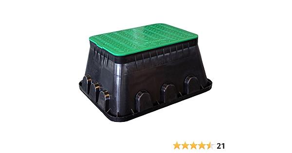 rg-vertrieb Ventilbox Ventilkasten Verteilerkasten Deckel Bew/ässerung Box Mini /Ø 16cm f/ür Magnetventile