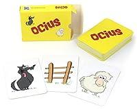 Ocius è un pazzo gioco di abilità e rapidità, frenetico e divertente, per tutta la famiglia e adatto a qualsiasi età. Le carte da gioco corrispondono a 5 diverse azioni. A turno un giocatore gira una carta dal proprio mazzetto. Il tuo obietti...