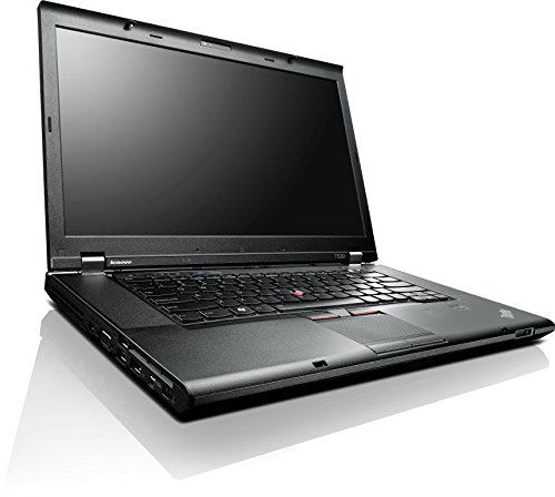 Lenovo ThinkPad T530 15,6 Zoll 1600×900 HD+ Intel Core i5 256GB SSD Festplatte 8GB Arbeitsspeicher Win 10 Pro DVD Brenner Bluetooth Webcam 2394-CG6 Notebook Laptop (Generalüberholt) - 10 Windows Lenovo