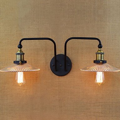 YYHAOGE Protection Des Yeux Simple Vintage Pour Le Salon Metal Wall Light 220V 40W