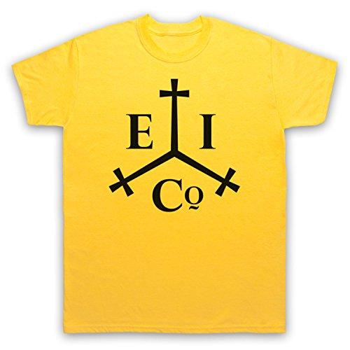 Taboo East India Company Herren T-Shirt Gelb