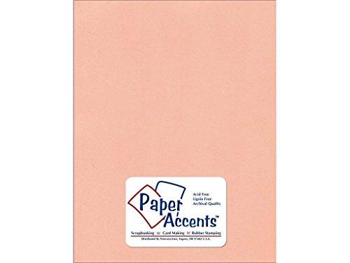 Accent Design Papier Akzente cdstk Strukturierte 8,5x 1180# Pfirsich Sorbet -