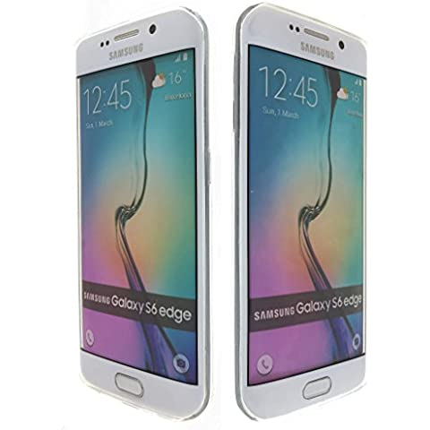 3Q Funda Samsung S6 Edge Carcasa Novedad Mayo 2016 Top Diseño exclusivo Suizo Funda Galaxy S6 Edge Transparente