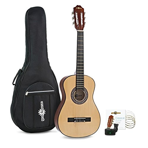 Pack de Guitarra Española Junior 1/2 de Gear4music Natural