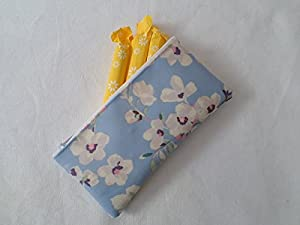 Handmade Oilcloth Tampon Case Holder - Cath Kidston Wellesley Blossom Fabric