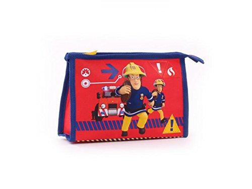 Feuerwehrmann Sam Kulturtasche Kulturbeutel (8351) (Urlaub Waschlappen)