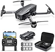 Holy Stone HS720 Foldable GPS Drone with 2K FHD Camera for Adults, Quadcopter with Brushless Motor, Auto Retur
