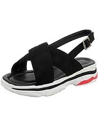 Coolcept Mujer Moda Slingback Sandalias Zapatos  Zapatos de moda en línea Obtenga el mejor descuento de venta caliente-Descuento más grande