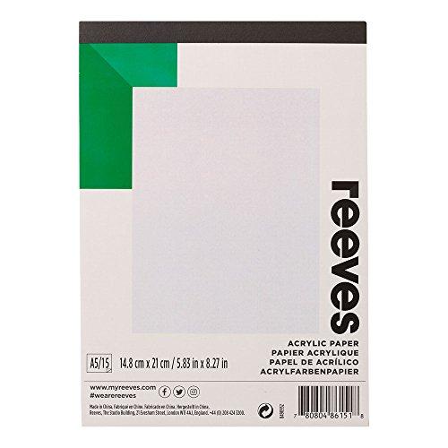 Ölmalblock Acrylmalblock in 5 verschiedenen Formaten á 12 Blatt Papier für Acryl