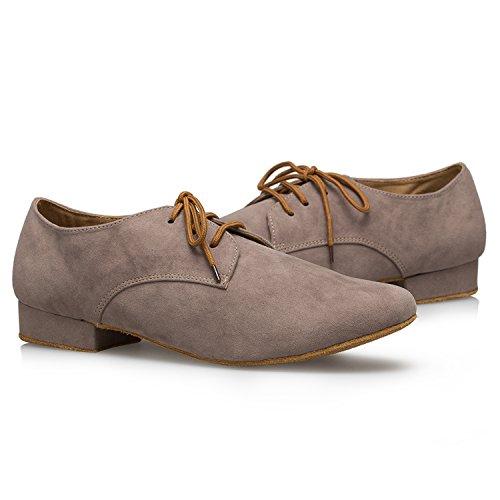 Miyoopark ,  Herren Tanzschuhe , Braun - Brown-2.5cm heel - Größe: 44 - 6